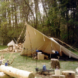 new concept 12f32 b0e72 Panther Primitives - Tents for the Fur Trade - Reproduction ...