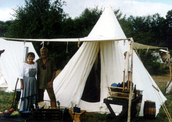 Historic Tipis and C& Gear · Hunteru0027s Tent & Panther Primitives - Fur Trade Tents - Historical Tents