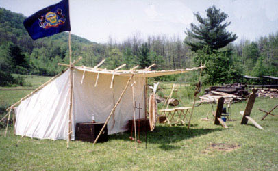 Historic Tipis and C& Gear & Panther Primitives - Fur Trade Tents - Historical Tents
