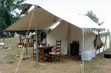 Historic Tipis and C& Gear Wall Tent & Panther Primitives - Tents for the Fur Trade - Reproduction Tents ...