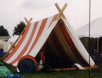 Viking Tent With Modern Inside